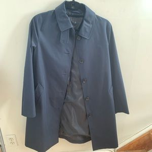 Navy Blue Trench Coat from Uniqlo (new)